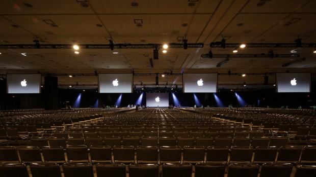 Apple Keynote Bühne