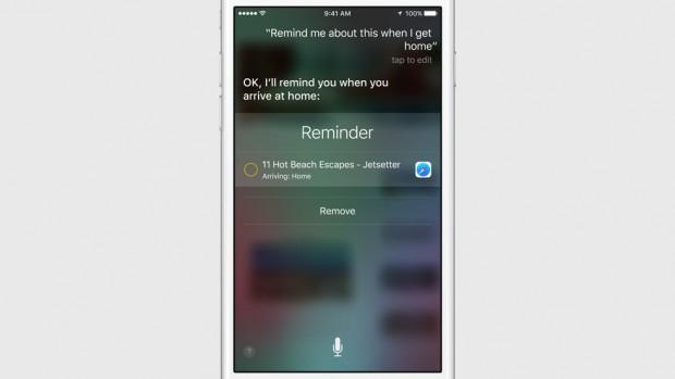 Siri Reminder