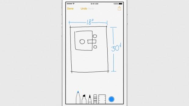 Notes iOS9