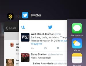 iOS Multitasking