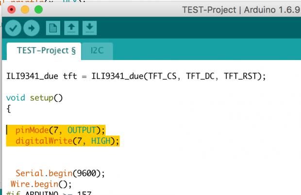 """2 2"""" SPI-TFT (ILI9341) am Arduino anschließen » Xgadget de"""