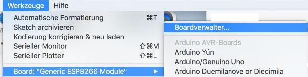 Arduino Werkzeuge