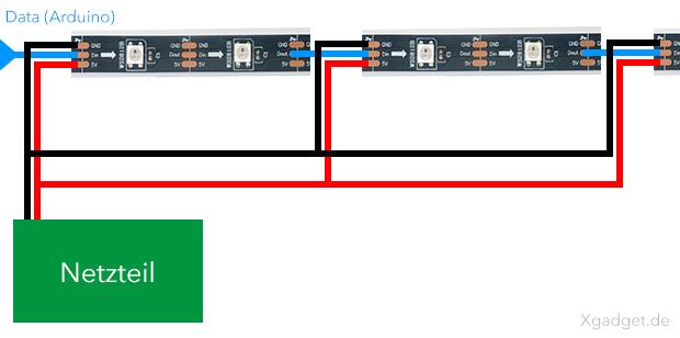 ws2812b-led-strip-einspeisung