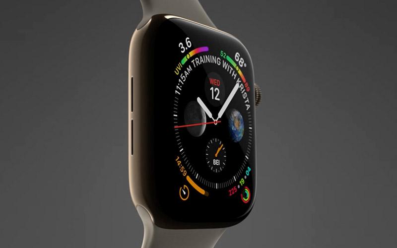 apple watch series 4 neue smartwatch mit gr eren. Black Bedroom Furniture Sets. Home Design Ideas