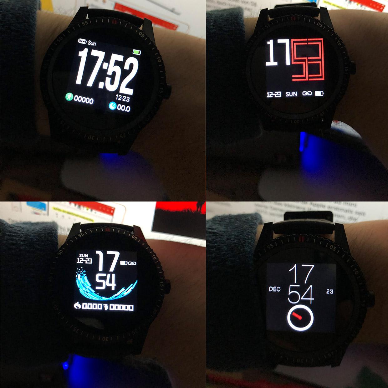alfawise t1 smartwatch im test. Black Bedroom Furniture Sets. Home Design Ideas