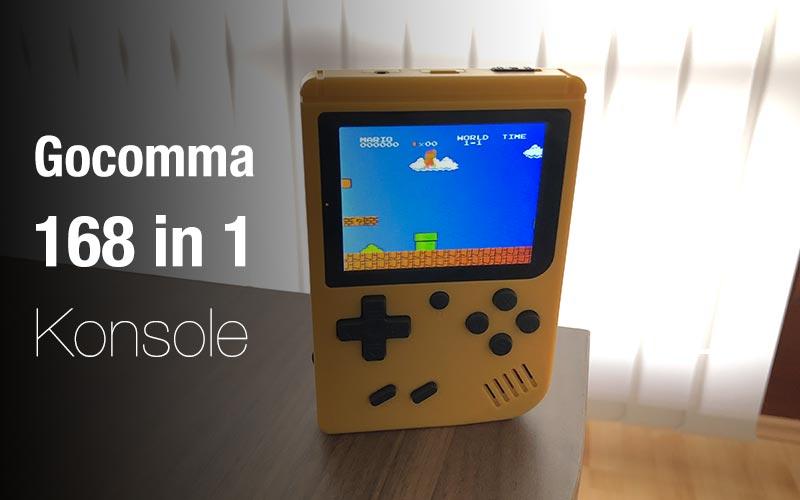 Gocomma 168 In 1 Handheld Spielekonsole Im Test Xgadgetde