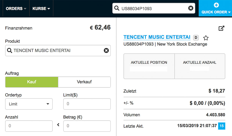 Tencent Music Aktie Kaufen So Gehts Xgadgetde
